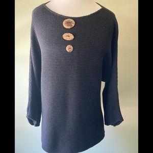 Eve cotton sweater EUC